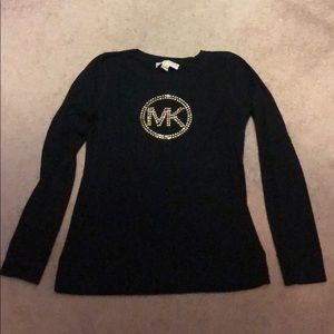 MK black long sleeve thermal